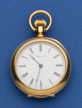 Timepieces:Pocket (pre 1900) , Agassiz 18k Gold 36 mm Pocket Watch. ...