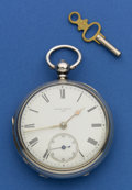 Timepieces:Pocket (pre 1900) , James Smith (Ayr, N.W. England) Sterling Lever Fusee. ...