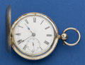 Timepieces:Pocket (pre 1900) , R.C. Tapscott London Silver Lever Fusee. ...