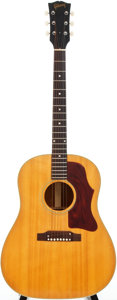 Musical Instruments:Acoustic Guitars, 1967 Gibson J-50 Natural Acoustic Guitar, #307614....
