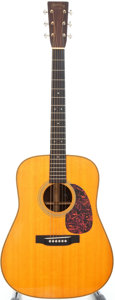 Musical Instruments:Acoustic Guitars, 2007 Martin HD-28V Natural Acoustic Guitar, #1124864....