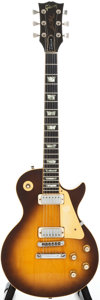 Musical Instruments:Electric Guitars, 1978 Gibson Les Paul Deluxe Sunburst Solid Body Electric Guitar,#70628555....