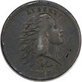 Large Cents, 1793 1C Wreath Cent, Lettered Edge VF30 PCGS. S-11c, B-16c, LowR.3....