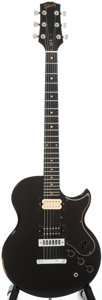 Musical Instruments:Electric Guitars, Circa: 1974 Gibson L6-S Black Solid Body Electric Guitar, #416570....