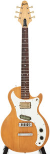 Musical Instruments:Electric Guitars, 1975 Gibson Marauder Natural Solid Body Electric Guitar, #99134798....
