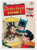 Golden Age (1938-1955):Superhero, Detective Comics #120 (DC, 1947) Condition: VG....