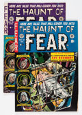 Golden Age (1938-1955):Horror, Haunt of Fear #16 and 19 Group (EC, 1952-53) Condition: AverageVG/FN.... (Total: 2 Comic Books)