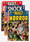 Golden Age (1938-1955):Horror, Vault of Horror Plus Group (EC, 1953).... (Total: 3 Comic Books)