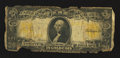 Large Size:Gold Certificates, Fr. 1183 $20 1906 Gold Certificate Good.. ...