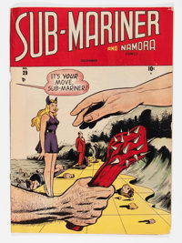 Sub-Mariner Comics #29 (Timely, 1948) Condition: GD/VG