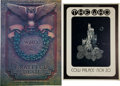 Music Memorabilia:Posters, The Who/Grateful Dead Concert Poster Group (Bill Graham,1973-76).... (Total: 2 Items)