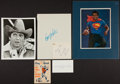 Football Collectibles:Others, Football Stars Signed Memorabilia Lot of 5....
