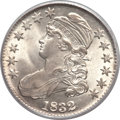Bust Half Dollars, 1832 50C Small Letters MS64 PCGS. O-110, R.1....