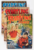Pulps:Science Fiction, Startling Stories Group (Standard, 1946-54) Condition: AverageVG/FN.... (Total: 10 Items)