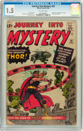 Silver Age (1956-1969):Superhero, Journey Into Mystery #83 (Marvel, 1962) CGC FR/GD 1.5 Off-white pages....