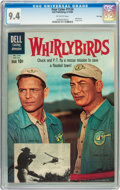 Silver Age (1956-1969):Adventure, Four Color #1124 Whirlybirds - File Copy (Dell, 1960) CGC NM 9.4 Off-white pages....
