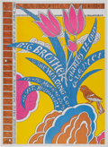 Music Memorabilia:Posters, Big Brother and the Holding Company Continental Ballroom ConcertPoster (1967)....
