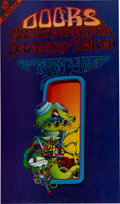 "Music Memorabilia:Posters, Doors ""Pay Attention/Spaceman"" Denver Concert Poster FD-D18 (Family Dog, 1967)...."