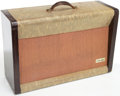Musical Instruments:Amplifiers, PA, & Effects, 1950s Silvertone Model 1336 Two Tone Guitar Amplifier, Serial # 185809...