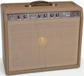 Musical Instruments:Amplifiers, PA, & Effects, 1962 Fender Deluxe Brown Guitar Amplifier, Serial # D04076...