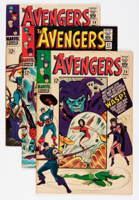 The Avengers #26-29 Group (Marvel, 1966) Condition: Average VF.... (Total: 4 Comic Books)