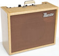 Musical Instruments:Amplifiers, PA, & Effects, 1961 Gibson Maestro Deluxe Reverb Echo Tan Guitar Amplifier, Serial # 210222...