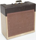 Musical Instruments:Amplifiers, PA, & Effects, 1957 Gibson GA-40 Les Paul Two Tone Guitar Amplifier, Serial #55042...