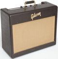 Musical Instruments:Amplifiers, PA, & Effects, 1957 Gibson GA-6 Brown Guitar Amplifier, Serial # 26997...