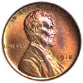 Proof Lincoln Cents, 1915 1C PR66 Red and Brown PCGS. CAC....