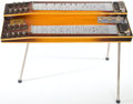 Musical Instruments:Lap Steel Guitars, Circa Early 1950's Gibson Console Grande Sunburst Lap SteelGuitar....