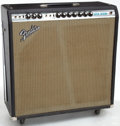 Musical Instruments:Amplifiers, PA, & Effects, 1972 Fender Super Reverb Black Guitar Amplifier, Serial # A55028...