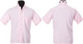 Music Memorabilia:Costumes, Elvis Presley Personally Owned Pink and Black Shirt (Lansky's,1956)....