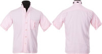 Elvis Presley Personally Owned Pink and Black Shirt (Lansky's, 1956)