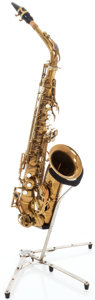 Musical Instruments:Horns & Wind Instruments, 1956 Selmer Mark VI Brass Alto Saxophone, Serial # 67529....