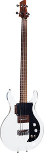 Musical Instruments:Electric Guitars, 1970 Ampeg Dan Armstrong Clear Electric Bass Guitar, Serial # D2335A....