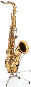 Musical Instruments:Horns & Wind Instruments, 1967 Selmer Mark VI Brass Tenor Saxophone, Serial # 149305....