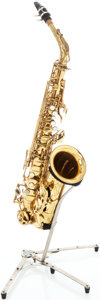 Musical Instruments:Horns & Wind Instruments, 1971 Selmer Mark VI Brass Alto Saxophone, Serial # 193092....