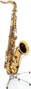 Musical Instruments:Horns & Wind Instruments, 1969 Selmer Mark VI Brass Tenor Saxophone, Serial # 170805....