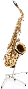 Musical Instruments:Horns & Wind Instruments, 1966 Selmer Mark VI Brass Alto Saxophone, Serial # 132952....