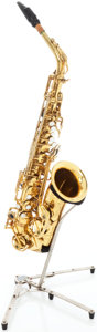 Musical Instruments:Horns & Wind Instruments, 1969 Selmer Mark VI Brass Alto Saxophone, Serial # 165948....