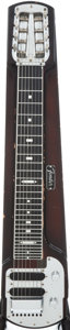 Musical Instruments:Lap Steel Guitars, 1963 Fender Stringmaster Walnut Lap Steel Guitar, Serial # 1442....