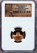 Proof Lincoln Cents, 2009-S 1C Presidency PR70 Red Ultra Cameo NGC. NGC Census: (2108).PCGS Population (283). Numismedia Wsl. Price for probl...