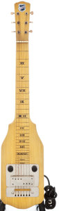 Musical Instruments:Lap Steel Guitars, 1940's National Blonde Lap Steel Guitar....