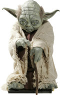 Movie/TV Memorabilia:Memorabilia, A Yoda Life-Sized Replica Model, 1990s....