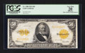 Large Size:Gold Certificates, Fr. 1200 $50 1922 Gold Certificate PCGS Apparent Very Fine 20.. ...