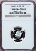 Proof Roosevelt Dimes, 2009-S 10C Silver PR70 Ultra Cameo NGC. NGC Census: (0). PCGSPopulation (256). Numismedia Wsl. Price for problem free NGC...