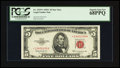 Small Size:Legal Tender Notes, Fr. 1535* $5 1953C Legal Tender Note. PCGS Superb Gem New 68PPQ.. ...
