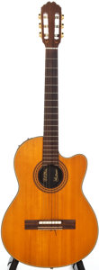 Musical Instruments:Acoustic Guitars, 1982 Gibson Chet Atkins SST Natural Acoustic Electric Guitar, # 6013....