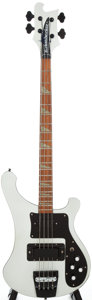 Musical Instruments:Bass Guitars, 1989 Rickenbacker 4001 Metallic Silver Electric Bass Guitar, #D29011....