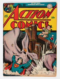 Action Comics #68 (DC, 1944) Condition: GD/VG